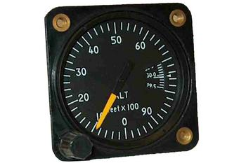 "Falcon Gauge 2 1/4"" Altimeter"