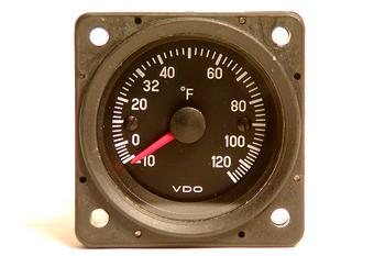 Mitchell Outside Air Temperature Gauge and Sender