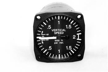 "UMA Non-TSO 2 1/4"" and 3 1/8"" Vertical Speed Indicator"